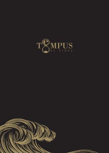 Download Tempus Menus PDF - St Davids Hotel
