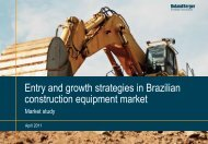 Entry and growth strategies in Brazilian construction ... - Roland Berger
