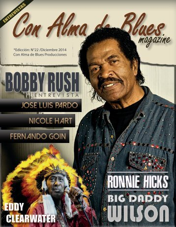 """Con Alma de Blues Magazine"" N° 22"