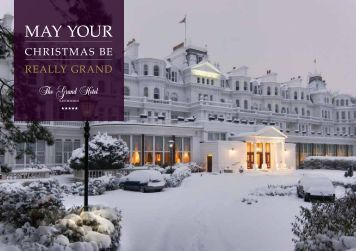 42759 ELI TGH Festive Dining Brochure FINAL ... - The Grand Hotel