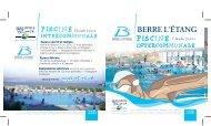 Plaquette piscine intercommunale - Agglopole Provence