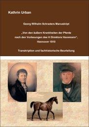 Georg Wilhelm Schraders Manuskript - Tiho Bibliothek elib ...