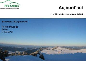 Bernard Chapuis: Demain l'Arc Jurassien? - Forum Landschaft