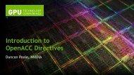 OpenACC - GPU Technology Conference