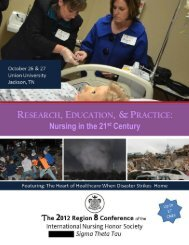 Region 8 Conference Flyer 2012.pub - Union University