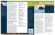 Technology business newsletter - Langlade County - University of ...
