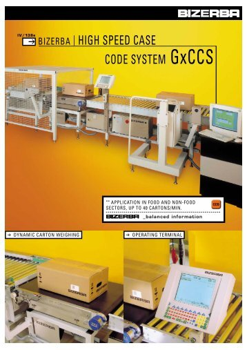 HIGH SPEED CASE CODE SYSTEM GxCCS