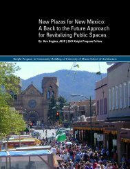 New Plazas for New Mexico: A Back to the Future Approach for ...