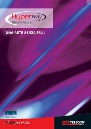 UNA RETE SENZA FILI. - Telecom Italia