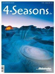 € 2,50 Sommer 2007 DaS Globetrotter MaGazin # 14 - 4-Seasons.de