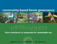 community-based forest governance - Friends of the Earth ...
