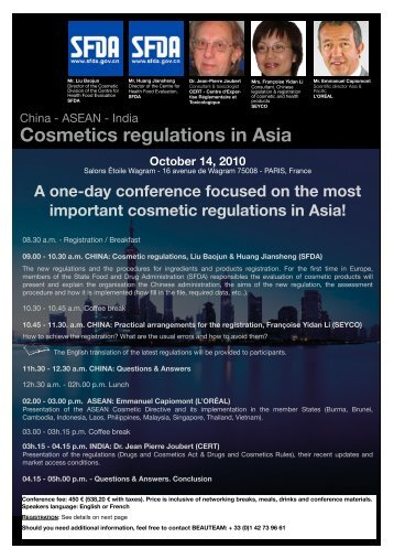 Cosmetics regulations in Asia - Premium Beauty News