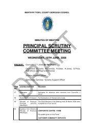 principal scrutiny committee meeting - Meetings, agendas, and ...