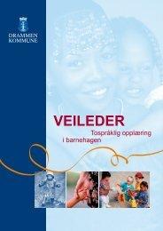 Veilederen for tospråklig opplæring i barnehagen - Drammen ...