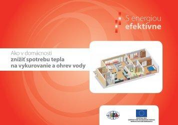 Ako v domácnosti znížiť spotrebu tepla a teplej vody - Slovenská ...
