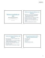 Medicare and Medicaid PPS - Idaho Health Care Association