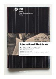 Especialización en Photobook Internacional - IED Madrid