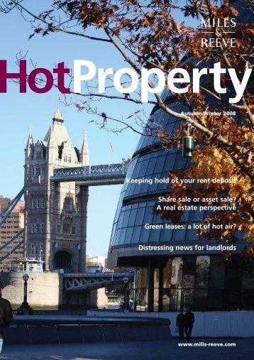 Hot Property Autumn 2008 - Mills & Reeve