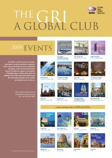 Untitled - Global Real Estate Institute