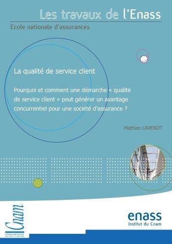 qualité de service - L'Enass