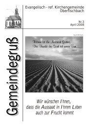 Ausgabe April 2008 - Oberfischbach