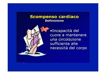 Lezione scompenso cardiaco - Cuorediverona.it