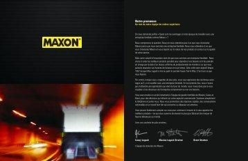 Notre promesse - Maxon