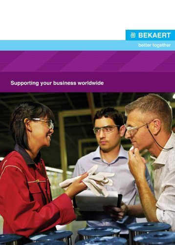 Supporting your business worldwide - Bekaert