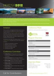 Call for Contributions - HERDSA 2013 conference