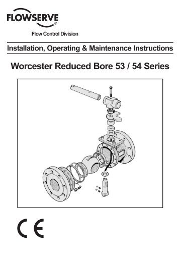 Worcester Reduced Bore 53 / 54 Series - Fagerberg