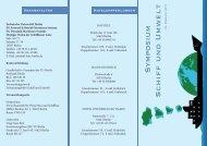 Symposium Schiff und Umwelt