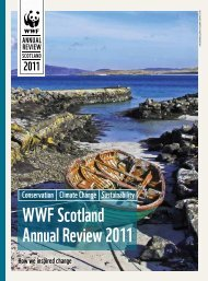WWF Scotland Annual Review 2011 - WWF UK