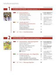 Inhaltsverzeichnis - Cornelsen
