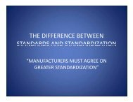 the difference between standards and ... - Architectural SSL