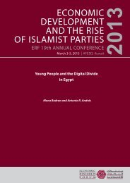 Young People and the Digital Divide in Egypt - Economic Research ...