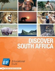 Discover South Africa - EF Educational Tours