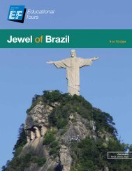 Jewel of Brazil - EF Educational Tours