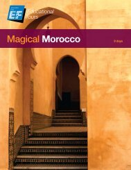 MAgicAl Morocco - EF Educational Tours
