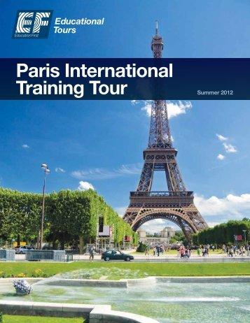 Paris International Training Tour - EF Educational Tours
