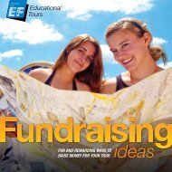 Fundraising Guide - EF Educational Tours