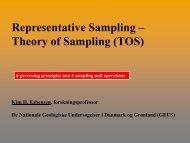 sampling - ATV - Jord og Grundvand