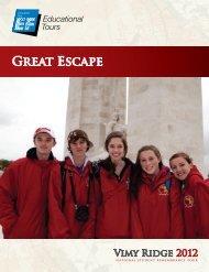 GREAt EScAPE - EF Educational Tours