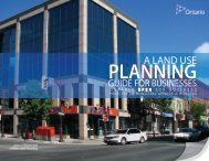 A Land Use Planning Guide for Businesses - Ministry of Municipal ...
