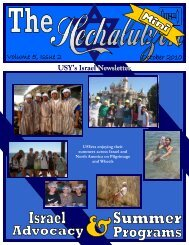 Issue 2 - United Synagogue Youth