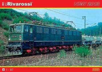 Download Rivarossi Neuheiten Prospekt 2013 hier...
