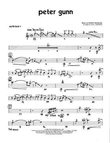 peter gunn - Mind For Music