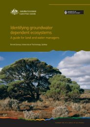 Identifying groundwater dependent ecosystems - Land and Water ...
