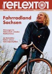 Fahrradland Sachsen - Reflektor