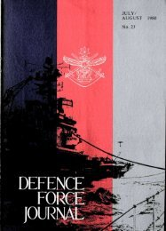 ISSUE 23 : Jul/Aug - 1980 - Australian Defence Force Journal