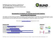 Liste mit Bezugsquellen - BUND Kreisgruppe Region Hannover